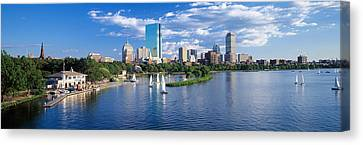 Charles River Canvas Print - Boston, Massachusetts, Usa by Panoramic Images