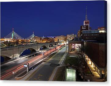 Boston Museum Of Science Canvas Print by Juergen Roth