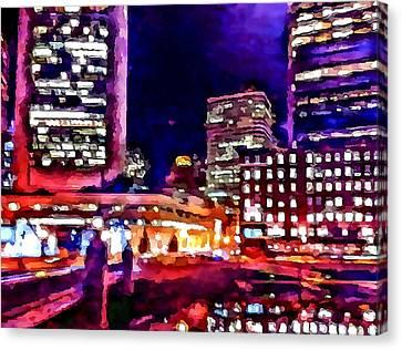Boston Nights 2 Canvas Print by Yury Malkov
