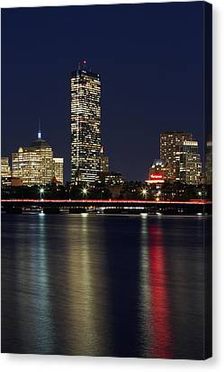 Charles River Canvas Print - Boston Proud by Juergen Roth