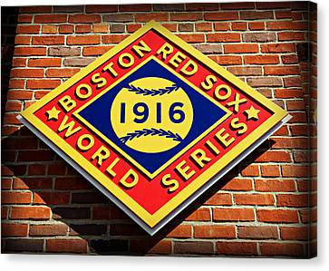 Boston Red Sox 1916 World Champions Canvas Print by Stephen Stookey