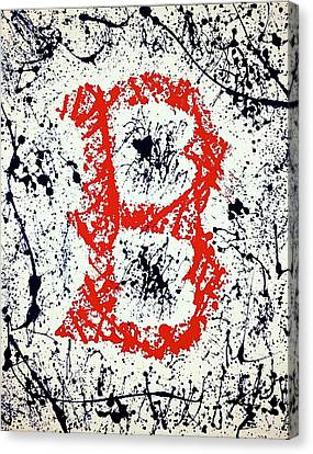 Boston Red Sox  Canvas Print by Sarah Torreblanca