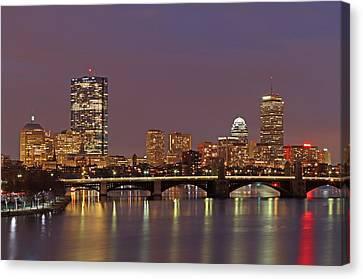 Charles River Canvas Print - Boston Redline by Juergen Roth