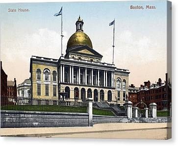 Boston State House Canvas Print by Granger