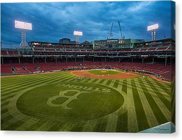 Boston Strong Canvas Print by Paul Treseler