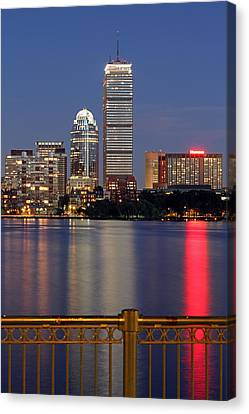 Boston Summer Night Dream Canvas Print