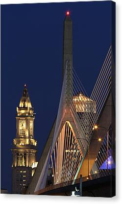 Boston Tall And Strong Canvas Print by Juergen Roth