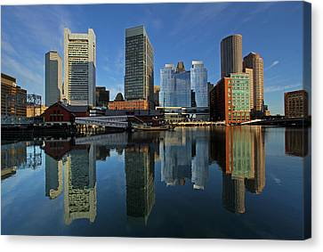 Boston Tea Party Canvas Print by Juergen Roth