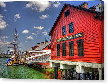 Boston Tea Party Museum 3 Canvas Print