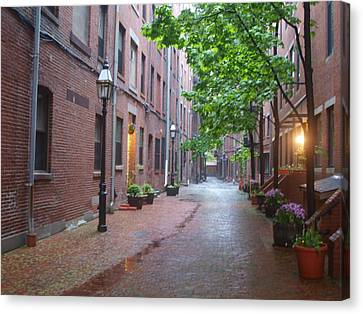Bostons North End Canvas Print