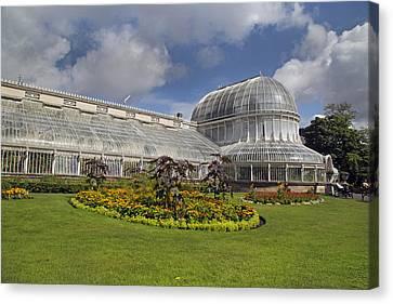 Belfast Canvas Print - Botanic Gardens Belfast Ireland by Betsy Knapp