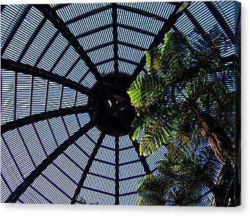 Botanical Building Atrium - Balboa Park Canvas Print by Glenn McCarthy
