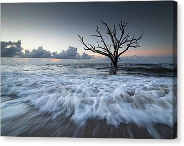 Botany Bay Power Canvas Print