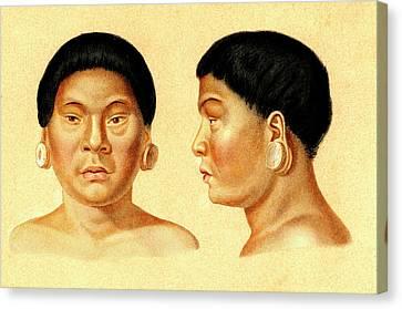 Botocudo Man Canvas Print