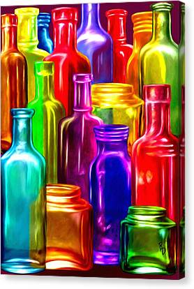Bottle Bounty Canvas Print