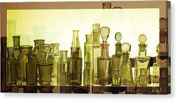 Canvas Print featuring the photograph Bottled Light by Holly Kempe