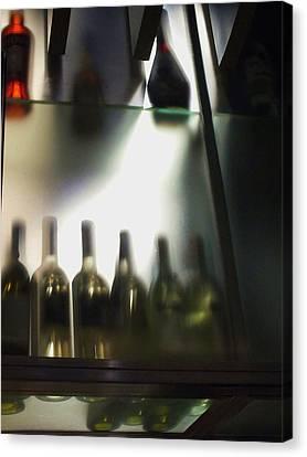 Bottles II Canvas Print by Anna Villarreal Garbis