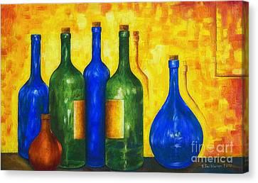 Harmonious Canvas Print - Bottless by Veikko Suikkanen