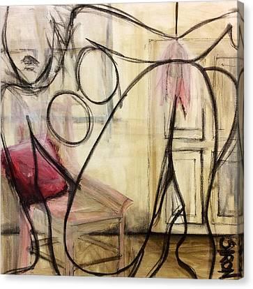 Boudoir Canvas Print by Helen Syron