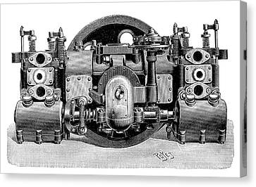 Boudreaux-verdet Engine Canvas Print by Science Photo Library