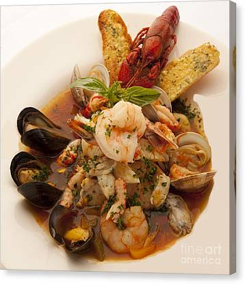 Bouillabaise Canvas Print by New  Orleans Food