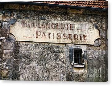 Boulangerie Canvas Print - Boulangerie Patisserie by Olivier Le Queinec