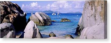 Boulders On A Coast, The Baths, Virgin Canvas Print by Panoramic Images