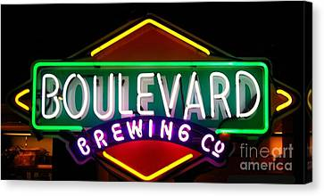 Boulevard Brewing Canvas Print