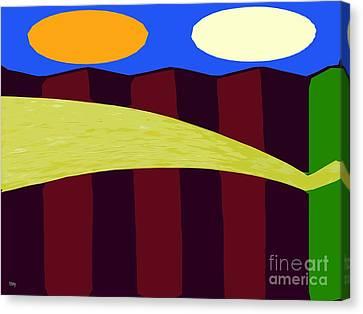 Bouncy Sunshine Canvas Print by Patrick J Murphy