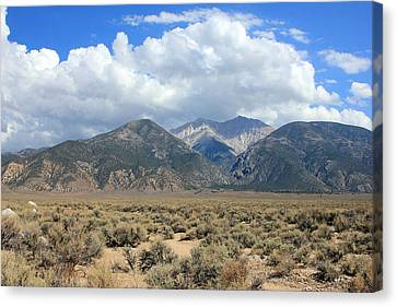 Boundary Peak  Canvas Print by Johnny Adolphson