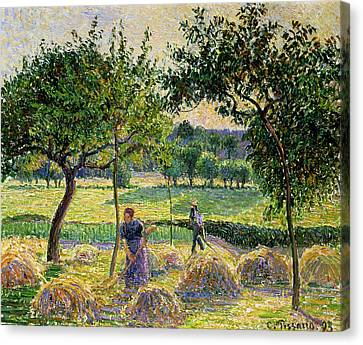 Bountiful Harvest, 1893 Canvas Print
