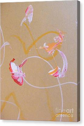 Canvas Print featuring the painting Bouquet 5 by Nancy Kane Chapman