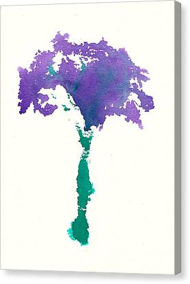 Canvas Print featuring the painting Bouquet Abstract 1 by Frank Bright