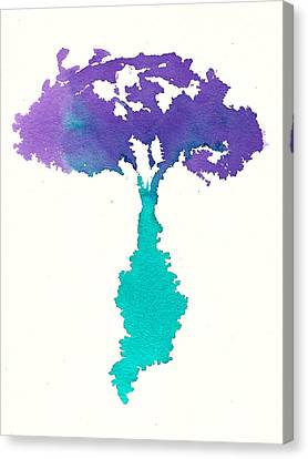 Canvas Print featuring the painting Bouquet Abstract 2 by Frank Bright