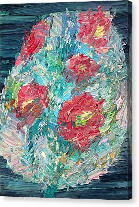 Bouquet Canvas Print by Fabrizio Cassetta