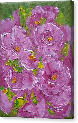 Bouquet Canvas Print by Judith Rhue