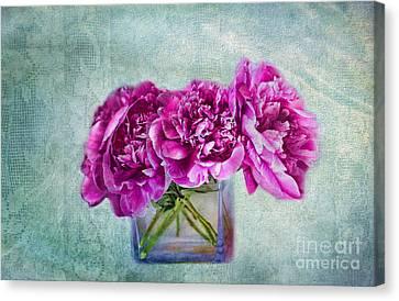 Bouquet Of Beauty Canvas Print by Andrea Kollo