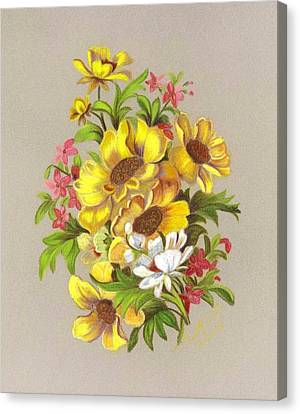 Bouquet  Canvas Print by Ruth Seal