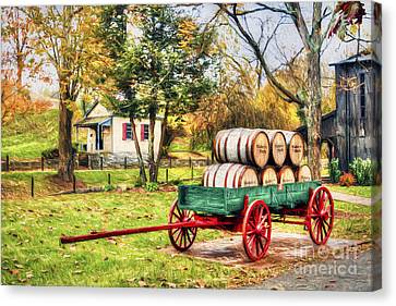 Bourbon Canvas Print by Darren Fisher