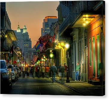 Bourbon Sunset Canvas Print