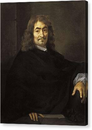 1616 Canvas Print - Bourdon, S�bastien 1616-1671. Portrait by Everett