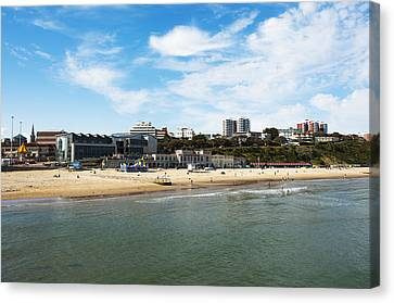 Bournemouth Bay Canvas Print by Svetlana Sewell