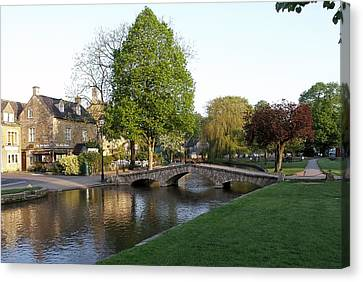 Bourton On The Water 2 Canvas Print by Ron Harpham