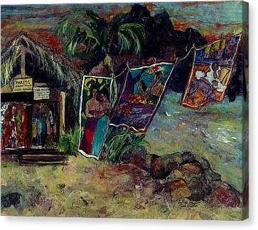 Boutique Gauguin Canvas Print