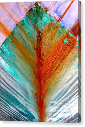Bow Splash Canvas Print by Robert Riordan