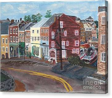 Bow Street Number 2 Canvas Print