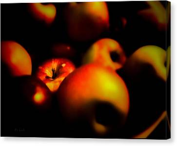 Apple Canvas Print - Bowl Of Apples by Bob Orsillo