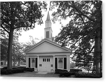 Bowling Green State University Prout Chapel Canvas Print by University Icons