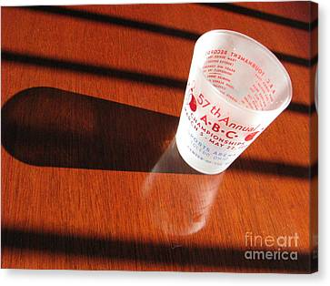 Canvas Print featuring the photograph Bowling History by Michael Krek