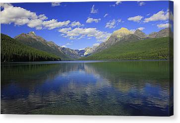 Bowman Lake Montana Canvas Print